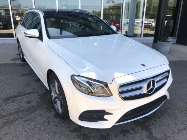 2020 Mercedes-Benz E-Class E 450 designo Diamond White Mercedes-Benz E-Class with 6 Miles available now!