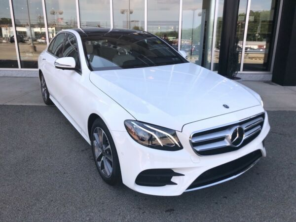 2020 Mercedes-Benz E-Class E 450 Polar White Mercedes-Benz E-Class with 6 Miles available now!