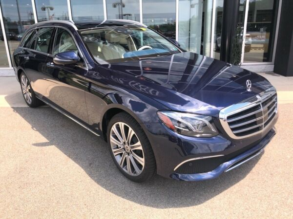 2020 Mercedes-Benz E-Class E 450 Lunar Blue Metallic Mercedes-Benz E-Class with 7 Miles available now!