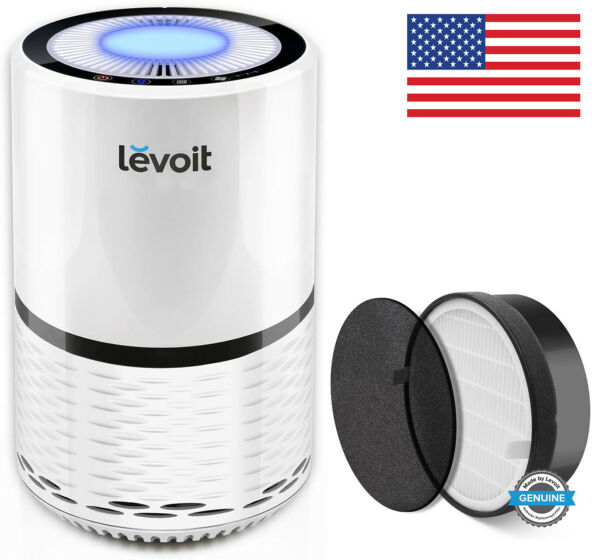 LEVOIT LV-H132 Air Purifier with True HEPA Filter for Home Allergies Smoke Dust