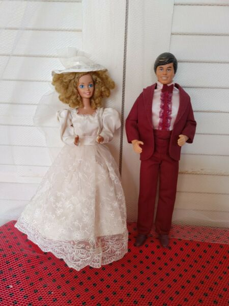 Vintage Barbie & Ken  Romantic Wedding Outfits (1986) Dolls and Outfits