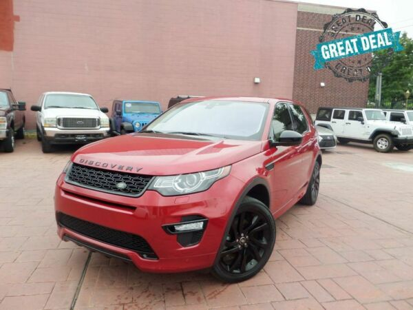 2017 Land Rover Discovery Sport HSE Luxury 4WD PANO ROOF NAVI BACK UP CAM 2017 Land Rover Discovery Sport HSE Luxury 4WD PANO ROOF NAVI BACK UP CAM 1-