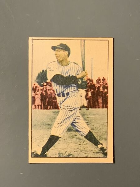 1952 Berk Ross Hit Parade Of Champions Phil Rizzuto EXMT *Rare* New York Yankees