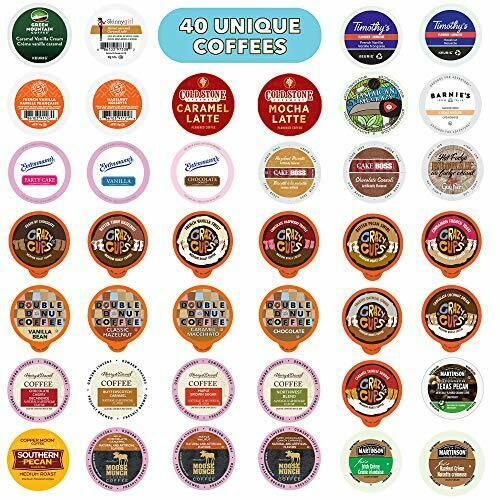 Flavored Coffee Variety Pack Fully Compatible With All Keurig Flavored K Cups...