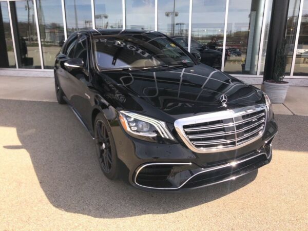 2020 Mercedes-Benz S-Class S 63 AMG® Black Mercedes-Benz S-Class with 7 Miles available now!