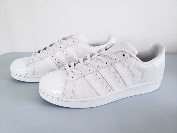 Adidas Superstar Shell Toe Cloud White/Grey Sneakers New York City Men's 9 New