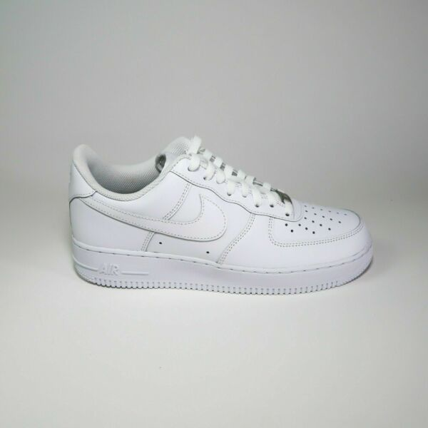 Nike Air Force 1 07' White Authentic Brand New DSWT Fast Shipping (315122-111)
