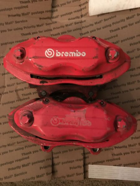 06-17 DODGE CHARGER SRT BREMBO Caliper FRONT Pair