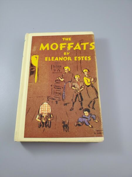 THE MOFFATS BY ELEANOR ESTES ILLUSTRATED BY LOUIS SLOBODKIN HARDCOVER EX LIBRARY