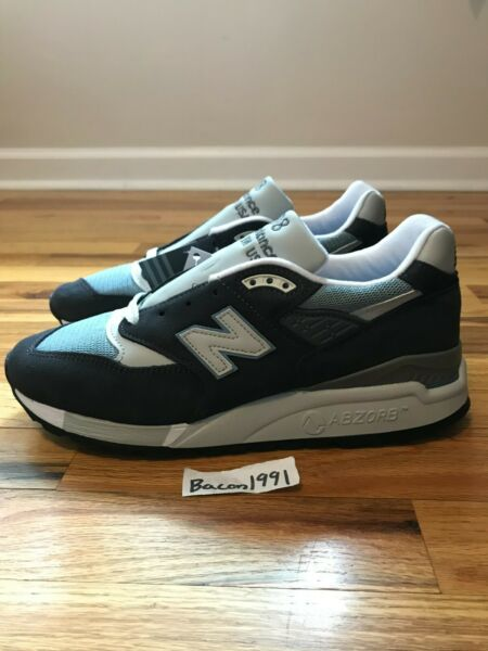 New Balance M998KT - Made in USA 998 KITH Steel Blue Sz 8