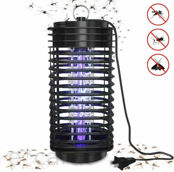 Electric Mosquito Insect Killer Zapper LED Light Fly Bug Trap Pest Control Lamp $12.99