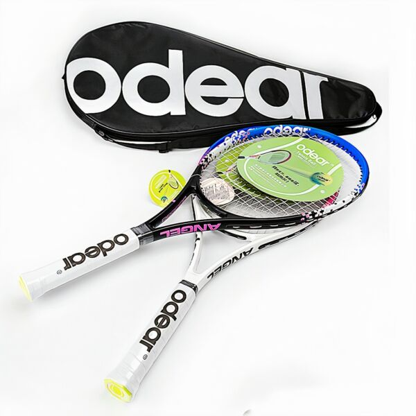 New High Quality ODEAR Carbon Fiber Graphite Tennis Racket