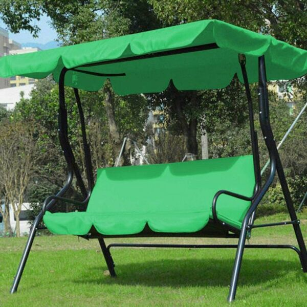 3 Seat Swing Cover Outdoor Patio Furniture Cushion Covers Garden Seat Chair $159.99