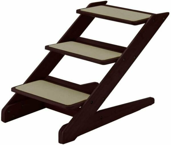 Richell 94807 Pet Furniture and Storage 18 Inch 3 Step Pet Stair Step Stool $34.95