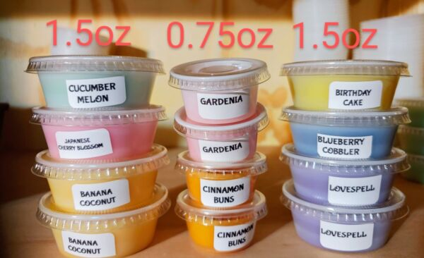 Scented Candle SOY Wax Tarts Melts Strong CHOOSE SCENTS 1.5 oz Large Cup or 0.75 $2.49