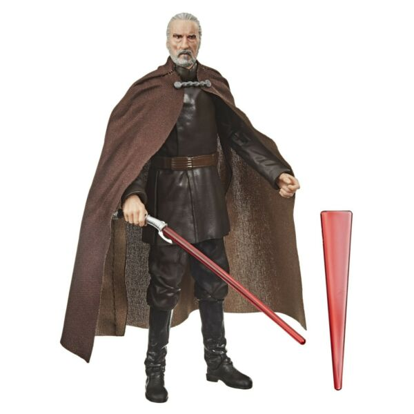 Star Wars The Black Series Count Dooku 6 Inch Action Figure LOOSE $21.99