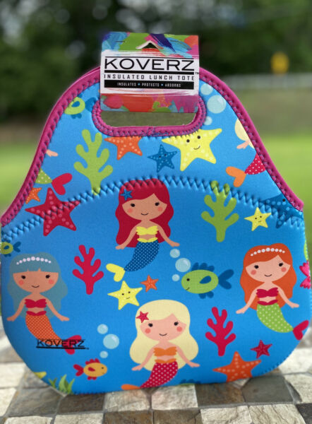 Koverz Adorable Neoprene Lunch Bag New With Tags