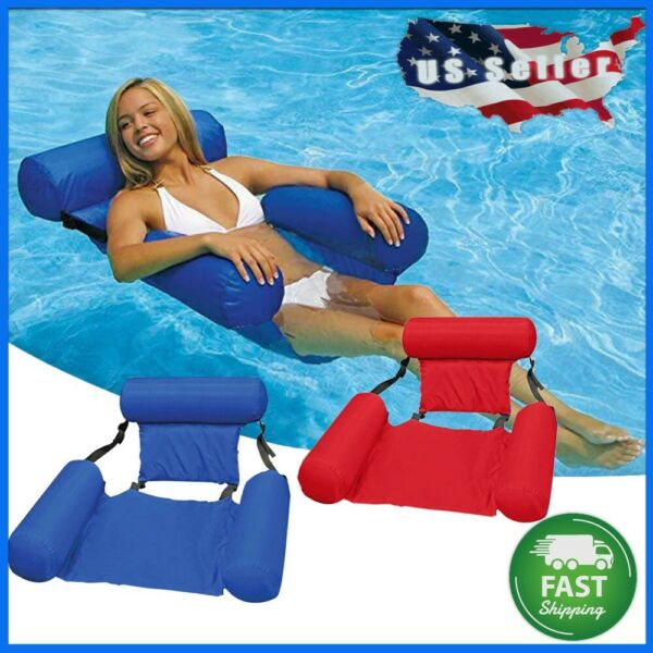 Poolmaster Water Chair Inflatable Swimming Pool Float Lounge $28.77