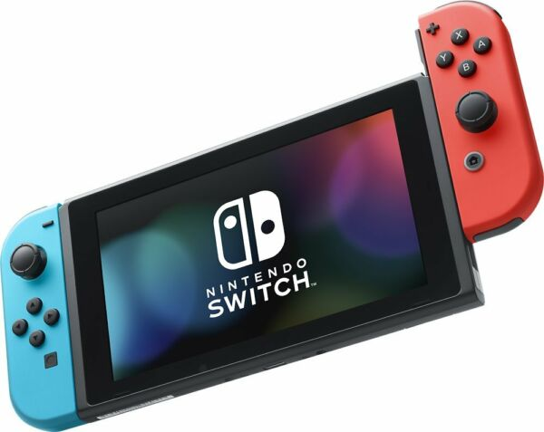 Nintendo Switch 32GB Console with Neon Blue  Red Joy-Cons HAC-001 (UD)