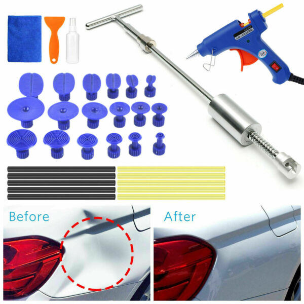Slide Puller Auto Dent Tools Car Body Paintless Dent Removal Hail Tools Kit