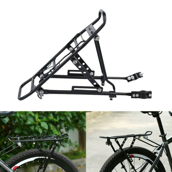Bicycle Bike Rear Rack Seat Post Mount Luggage Carrier Aluminum Cycling Frame $21.80