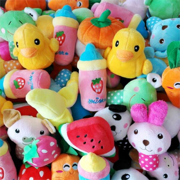 15X Lot Wholesale Dog Toy Pet Puppy Squeaky Toys Play for Fun Teacup Dog Yorkie $15.97