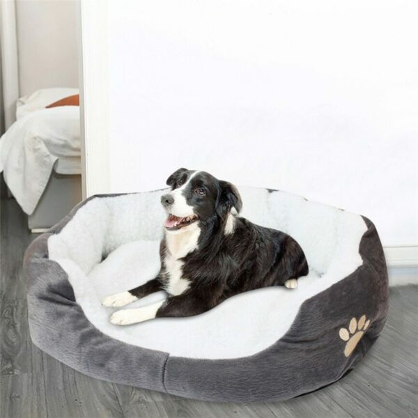 Warm Fleece Pet Dog Sleeping Bed Sofa Waterproof Soft Cushion $25.59