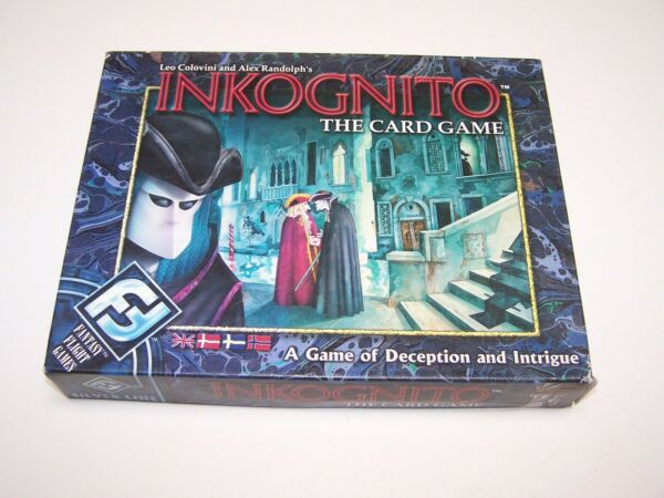 Inkognito: The Card Game Complete Very Nice Fantasy Flight Games