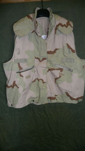 PASGT VEST COVER TRI COLOR DESERT CAMO Large XLarge Free Shipping