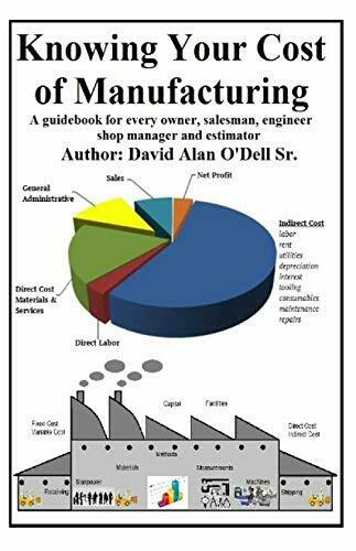 Knowing Your Cost of Manufacturing A Guidebook for every owner..by David O#x27;Dell $8.24