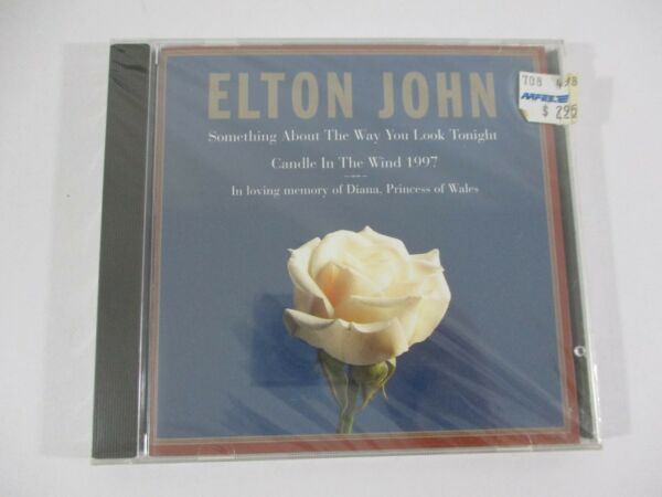 Elton John Special Edition Princess Diana Sealed Music CD Candle in the Wind