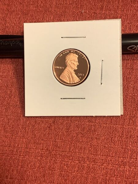 2013 S LINCOLN SHIELD *PROOF* CENT  PENNY  **FREE SHIPPING** $4.95