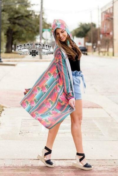 Siesta Fiesta Hooded Cardigan $24.95