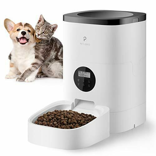 Petlibro Automatic Cat Feeder Auto Dog Food Dispenser Timed Feeder white  $65.99