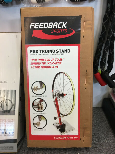 Feedback Sports Portable Bike Work Stand Pro Truing Stand $99.99