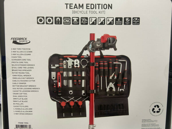 Feedback Sports Team Edition Bicycle Tool Kit 18 tools #17094 $249.00