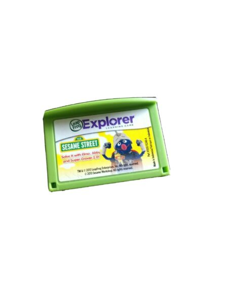 Leapfrog Leapster Explorer Game SESAME STREET Leap Pad 2 3 GS Ultra cartridge $3.70