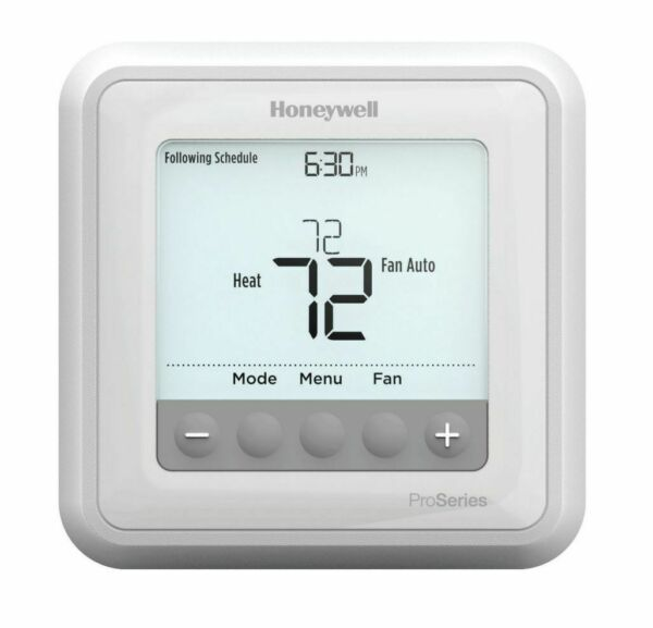 Honeywell Programmable Thermostat 2 H 1C Heat Pumps or 1H 1C Conv. Systems $69.50
