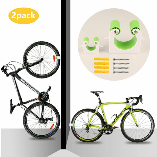 Bike Parking Clip Buckle Bicycle Storage Parking Buckle Rack for Indoor Outdoor $14.68