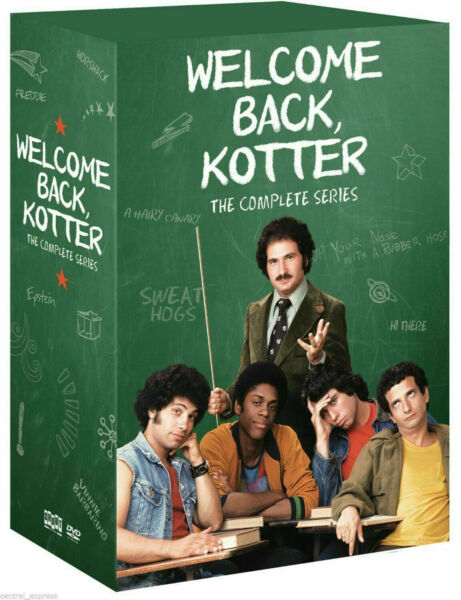 Welcome Back Kotter: The Complete Series DVD 2014 16 Disc Set $35.00
