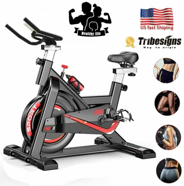 Fnova Exercise BikeIndoor Cycling Bike Studio Quality with Magnetic Resistance $256.49