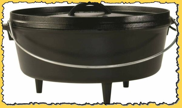 Lodge 12 Inch 6 qt. Camp Dutch Oven