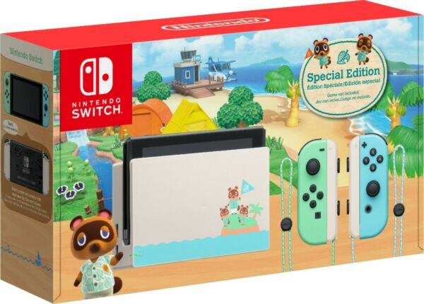 Animal Crossing: New Horizon Special Edition Nintendo Switch Buy TODAY