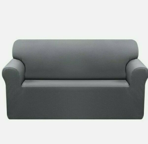 OBYTEX .Sofa SlipCover.Furniture Protectors.Upgrade Pattern. Gray .New $28.60