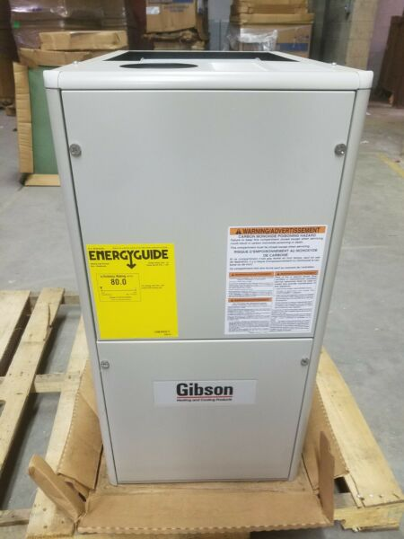 Gibson 80% 72k 1 Stage 2 4 Ton 17.5quot; Downflow Gas Furnace KG7SK 072C 24B1 $799.99