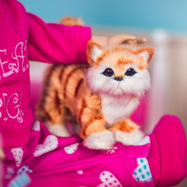 The Queen#x27;s Treasures TABBY KITTY CAT Accessory Pet For 18quot; American Girl Dolls $13.50