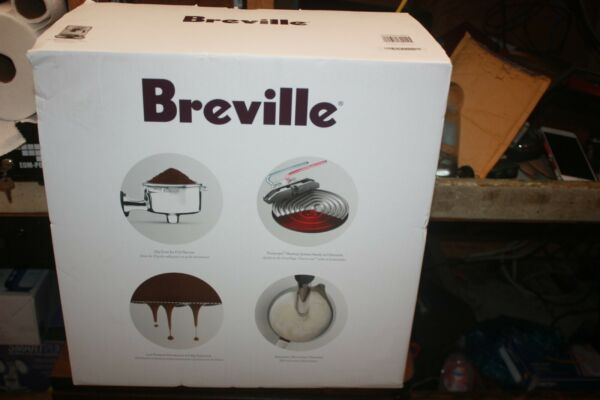 Breville Bambino Plus Espresso Machine Brushed Stainless Steel BES500BSS1BUS1