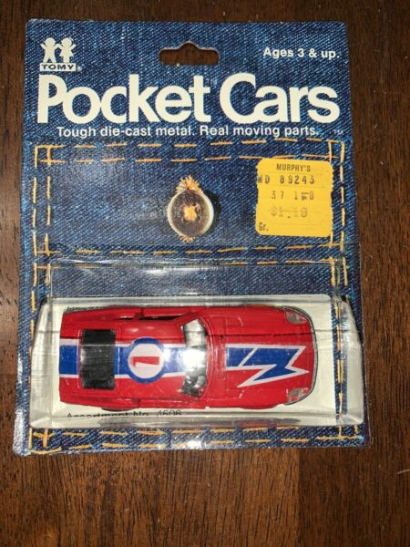 Rare Tomica Pocket Cars Datsun 280Z 1974 Mint On Card Free Shipping