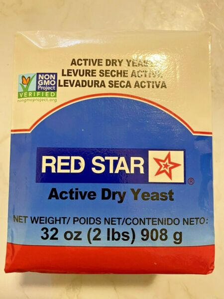 Red Star Active Dry Yeast 2lb 32 oz EXP 08 22 for bakers amp; bread machines