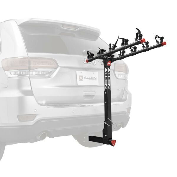 5 Bicycle Hitch Mounted Bike Rack Carrier Deluxe Locking Quick Install 552QR $206.30